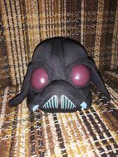 "Angry Birds Star Wars Darth Vader Plush 5"" 2012 Rovio Lucasfilm Stuffed..."