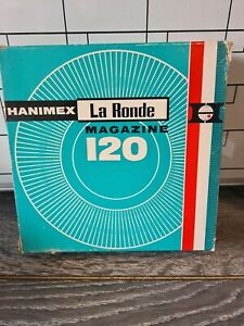 Hanimex La Ronde 120 x 35mm Rotary Slide Magazine for Projector Auto