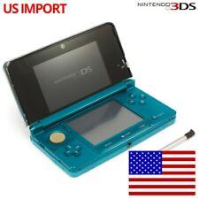 Nintendo 3DS - Konsole #Aqua Blue / blau + Stromkabel US