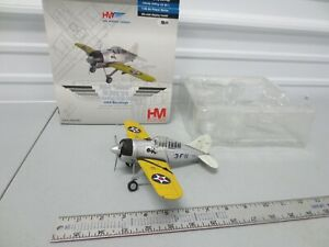 HM (Hobbymaster) 1/48 Diecast F2A-2 Buffalo US Navy VF-3 4th Section Right Wing