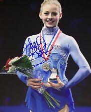Gracie Gold USA Figure Skating Olympics Signed 8x10 Autographed Photo COA E5
