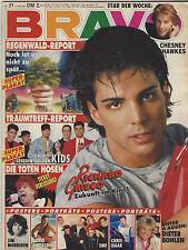 BRAVO 21/16.05.1991 Super Plakat NEW KIDS ON THE BLOCK Heft komplett