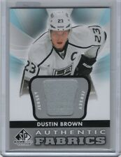 2012-13 SP Game Used Authentic Fabrics Jersey #AF-DU Dustin Brown