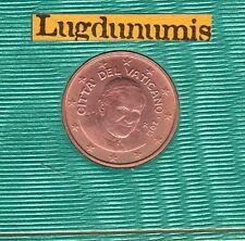 Vatican 2013 - 1 Centime D'Euro - 94 000 exemplaires Provenant du BU RARE