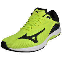 Mizuno Wave Sonic Men's Running Shoes Fitness Gym Workout Trainers Yellow