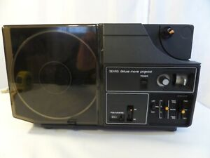 Vintage Sears Deluxe Motion Picture Projector Original MSR $189.99 Made in USA