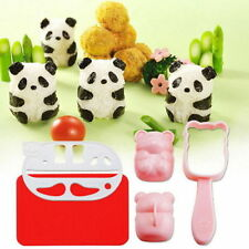 BENTO accessories Rice Ball Mold Mould with Nori Punch Sushi PANDA  Shape