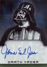 2001 Star Wars Evolution James Earl Jones as The Voice of Darth Vader Auto Card