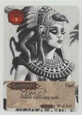 1994 Spellfire: Master the Magic - Ravenloft First Edition #91 Tiyet Card 2k3