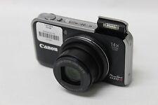 Canon PowerShot SX210 IS 14.1 MP Digital Camera - Dark Blue (50667)