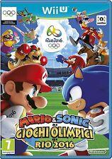 Mario e Sonic ai Giochi Olimpici Rio 2016   Nintendo Wii U