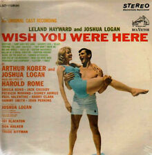 WISH YOU WERE HERE - HAROLD ROME - ORIGINAL CAST - RCA LP - STILL SEALED