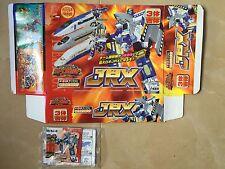 Transformers Rid 2000 Box & paperwork C-015 Jrx trainbots Takara