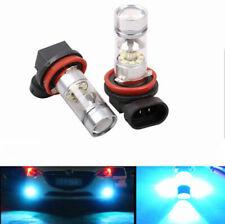2pcs H11 H8 100W LED 8000K 2323 ICE BLUE Projector Fog Driving Light Bulbs