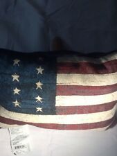 Flag Tapestry Throw Pillow Afghan  Throw Pillow