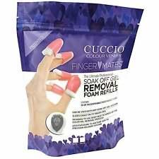 Cuccio Finger Mates Soak Off Gel Removal System - Foam Refills