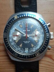 Edox incabloc 200m diver Armbanduhr