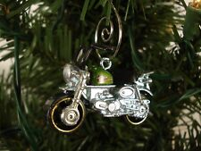 Hot Wheels Honda Monkey Z50 turned into a Custom Ornament with deluxe hanger