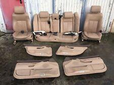 BMW E38 7er Lederausstattung Leder Beige Aktivsitze Komfortsitze Memory Sitze