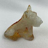 Boyd Art Glass Duke the Scottie Dog - Bronze Slag
