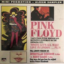 Pink Floyd - Mini Promotion- Album Sampler(Vinyl LP), 1991 See For Miles Records