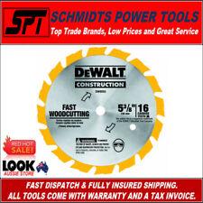 "DeWALT DW9055 16T 5-3/8"" 136mm TIMBER CUTTING CORDLESS CIRCULAR SAW BLADE - New"