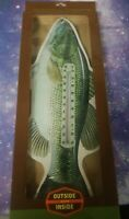 Outside Inside Gifts Largemouth Bass Thermometer gsi outdoors fish temp