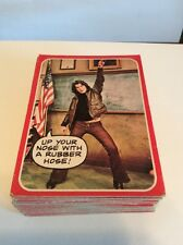 Topps Welcome Back Kotter Complete 1976 Trading Card Set 1-53 Plus 34 Duplicates