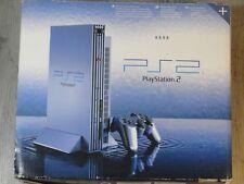 Console Sony PlayStation 2 Tirage limité Bleu CONSOLE PS2 AQUA BLUE COMPLETE