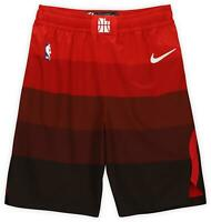 Utah Jazz Team-Issued Red Shorts from the 2019-20 NBA Season Size 44+2