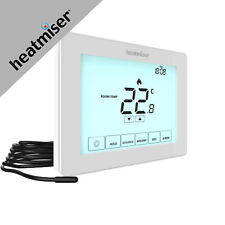 Heatmiser Touch-E Touchscreen Electric Floor Heating Thermostat 230V