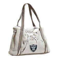 Oakland Raiders NFL Football Team Ladies Embroidered Hoodie Purse Handbag