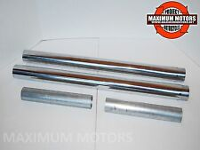 FRONT FORK TUBES 49 MM HARLEY DYNA STREETBOB  LOWRIDER FXDB FXD 2006 AND NEWER