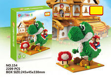 NEW Super Mario Yoshi Monster Figure Diamond Mini Building Nano Block Toy Gift