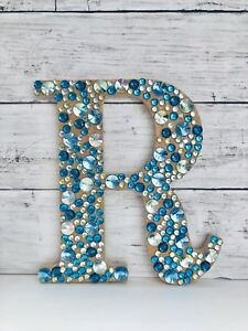 Bling Letters Initials Or Name Wall Decor Personalize Custom Colors