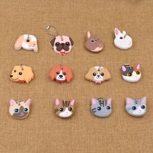 Cute Animals Cartoon Key Cover Lovely Cap Dog Puppy Cat kitty Kering Head Gift