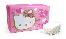 Hello Kitty Silky Cotton Pad 80 Count Makeup Facial Nail Polish HK010 White