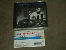 Donald Fagen The Nightfly Japan CD Jeff Porcaro Michael Brecker Larry Carlton