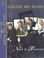 Color Me Badd Now & Forever CASSETTE ALBUM Hip Hop  RnB/Swing Ballad TURKEY?
