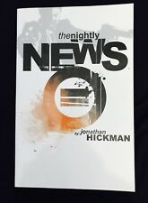 The Nightly News Trade Paperback. Image Hickman Miniseries 2011