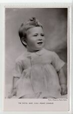 THE ROYAL BABY, HRH PRINCE CHARLES: Royalty postcard by Tuck (C18418)