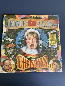 HOME ALONE Soundtrack LIMITED Clear Red Green Swirl LP Vinyl SEALED New In Hand