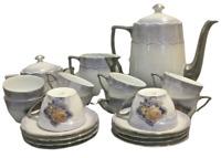 SERVICE A CAFÉ PORCELAINE ALLEMANDE XXème Service de table céramique porcelaine