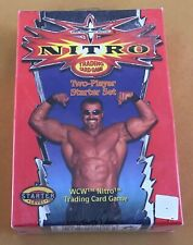 2000 WOTC WCW NITRO Trading Card Game Two-Player Starter Set NEW
