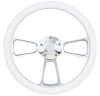 Forever Sharp Steering Wheel Kit White 1960 - 1973 VW Bug Beetle Kharmann Ghia