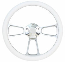 Forever Sharp Steering Wheel Kit White 1960 - 1973 VW Bug Beetle Kharmann Ghia