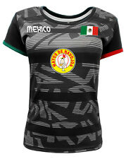 Women Jersey Mexico Mayos de Navojoa 100% Polyester Black/Grey
