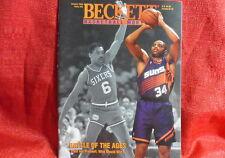 NBA Beckett Magazine Philadelphia 76ers Charles Barkley Julius Erving Jan 1994