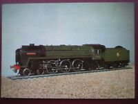 POSTCARD MODEL - BR STANDARD CLASS 7 LOCO 70050 'FIRTH OF CLYDE'
