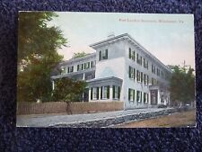 1910 The Fort London Seminary in Winchester, Va Virginia PC